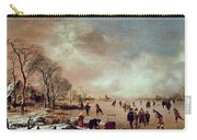 Frozen Canal Scene  Carry-all Pouch
