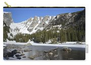 Frozen Colorado Lake Carry-all Pouch