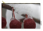 Frozen Crab Apples Carry-all Pouch
