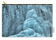 Frozen Falls Along The Icefields Parkway Carry-all Pouch