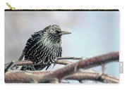 Frozen Feathers Carry-all Pouch