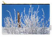 Frozen Fence Post Carry-all Pouch