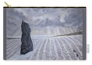 Frozen Field Megalith Carry-all Pouch