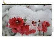Frozen Flowers Carry-all Pouch