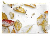 Frozen Leaves Carry-all Pouch