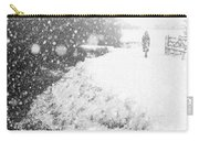 Frozen Moments - Walking Away Carry-all Pouch