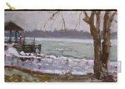 Frozen Niagara River Carry-all Pouch