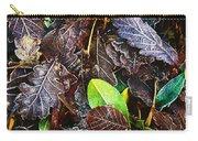 Frozen Oak Leaves, Glenveagh National Carry-all Pouch
