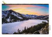 Frozen Reflections At Echo Lake Carry-all Pouch