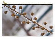Frozen Seed Capsules In Time Carry-all Pouch