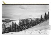 Frozen Valley 4 Bw  Carry-all Pouch