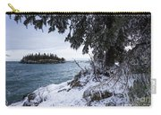 Frozen View Of Ellingson Island Carry-all Pouch