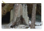 Frozen Waterfall Carry-all Pouch