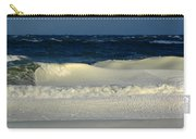 Frozen Waves Christmas Card Carry-all Pouch