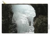 Frozen Zapata Falls Carry-all Pouch