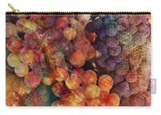 Fruit Of The Vine Carry-all Pouch by Barbara Berney