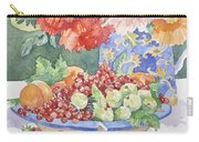 Fruit On A Plate Carry-all Pouch