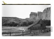 Fruita Farm In Black And White Carry-all Pouch