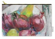 Fruits In Vintage Carry-all Pouch