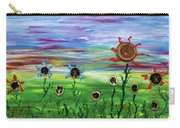 Fruity Flowerfield Carry-all Pouch