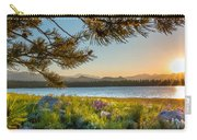 Frye Lake Flowers Carry-all Pouch