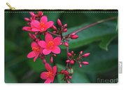Jatrohpa Bush Blooms Carry-all Pouch