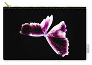 Fuchsia Burgundy Butterfly Carry-all Pouch