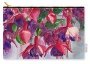 Fuchsia Frenzy Carry-all Pouch by Lynne Reichhart