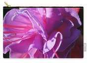 Fuchsia Frills Carry-all Pouch