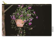 Fuchsia Hanging Basket On Rustic Log Pergola Carry-all Pouch