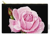 Fuchsia Rose Carry-all Pouch
