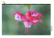 Fuchsia Cluster #6 Carry-all Pouch