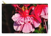 Fuchsias With Droplets Carry-all Pouch