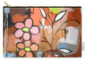 Fuddled Floral Carry-all Pouch