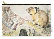 Fuertes, Louis Agassiz 1874-1927 - Burgess Animal Book For Children 1920 Pika Carry-all Pouch