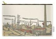 Fukagawa Bedrijventerrein  Maekawa Senpan  1945 Carry-all Pouch