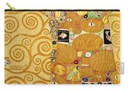 Fulfilment Stoclet Frieze Carry-all Pouch by Gustav Klimt
