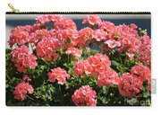 Full Bloom Geraniums  Carry-all Pouch