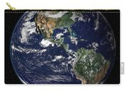 Full Earth Showing North And South Carry-all Pouch