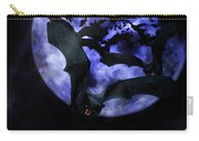 Full Moon Bats Carry-all Pouch
