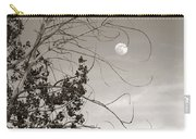 Full Moon Behind Cottonwood Tree Carry-all Pouch