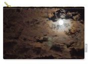 Full Moon Cloudy Night Carry-all Pouch