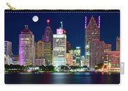 Full Moon Over Detroit Carry-all Pouch