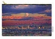 Full Moon Over New York City In October Carry-all Pouch