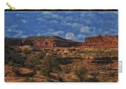 Full Moon Over Red Cliffs Carry-all Pouch