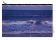 Full Moon Over The Ocean Carry-all Pouch