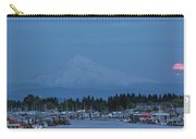 Full Moon Rising At Hayden Island Carry-all Pouch