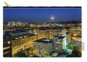 Full Moon Rising Over Portland Downtown Carry-all Pouch