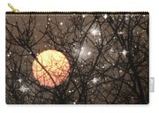 Full Moon Starry Night Carry-all Pouch