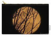 Full Moon Through The Branches Carry-all Pouch